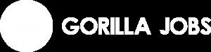 Gorilla Jobs Logo - White PNG