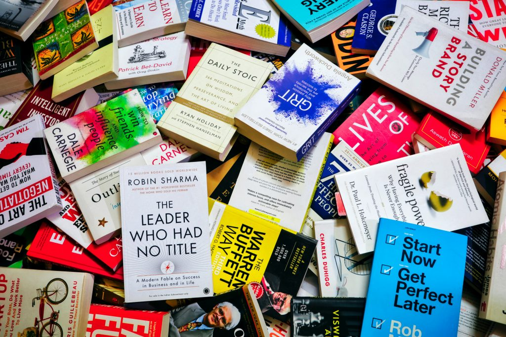 Gorilla Jobs Blog Cultivating Good Work Habits Collection of Self Help Books For Leaders